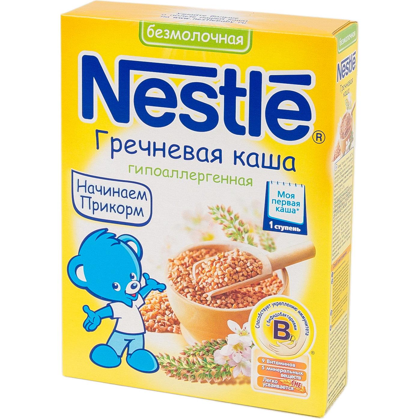 Каша Nestle безмолочная 200 гр Гречневая (1 ступень)<br>