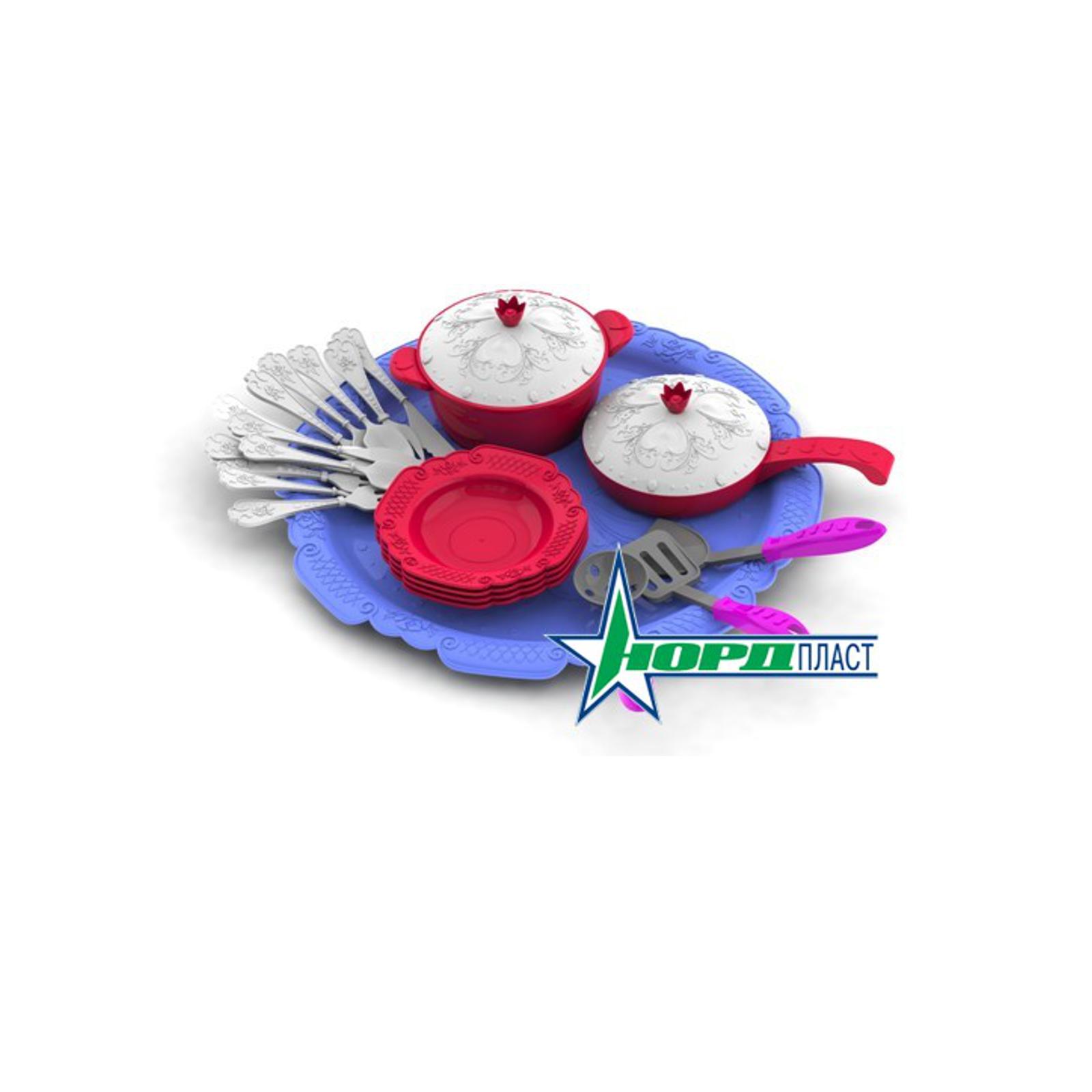 Набор посуды Нордпласт Волшебная хозяюшка Кухонный сервиз на поддоне<br>