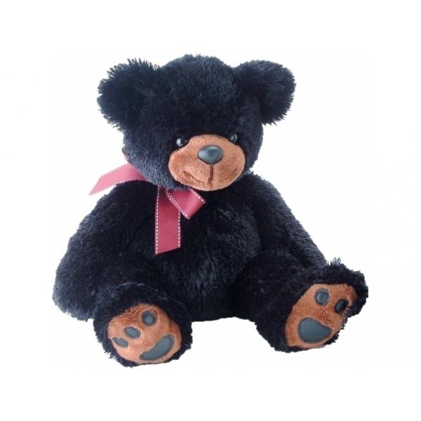 Мягкая игрушка AURORA Медведь черный 36 см<br>