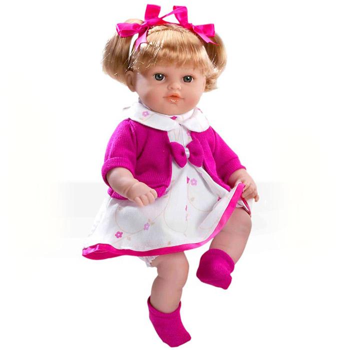 Кукла Arias 33 см Блондинка функциональная в фиолетовой одежке<br>
