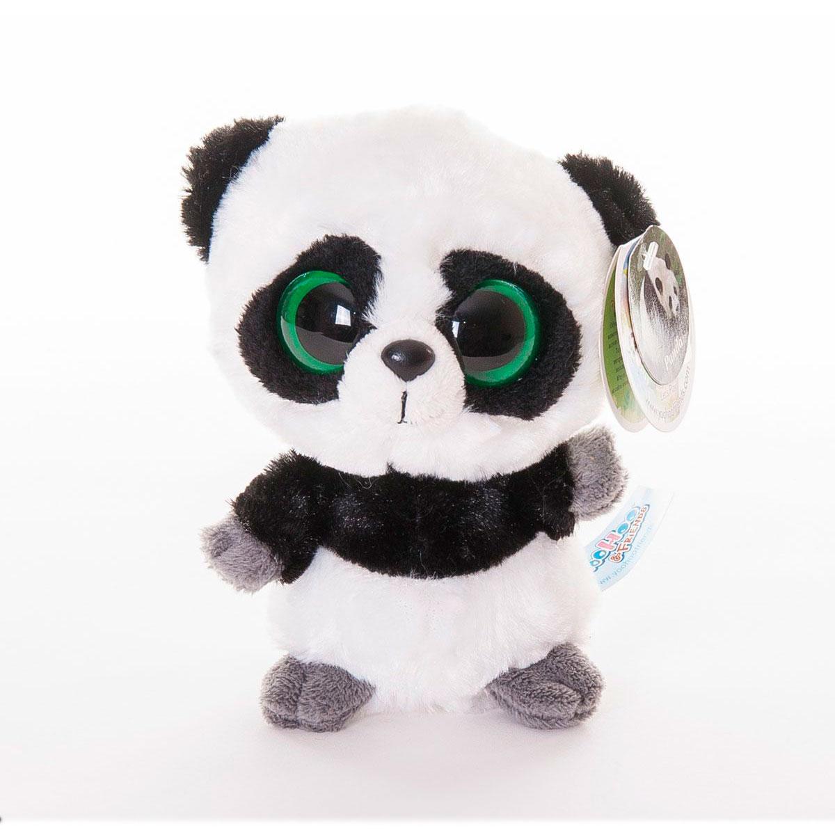 Мягкая игрушка AURORA Юху и друзья Панда 12см<br>