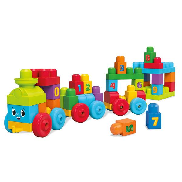 Игрушка Mega Bloks Поезд Учимся считать<br>