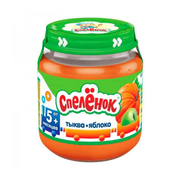 Пюре Спеленок овощное 125 гр Тыква яблоко (с 5 мес)