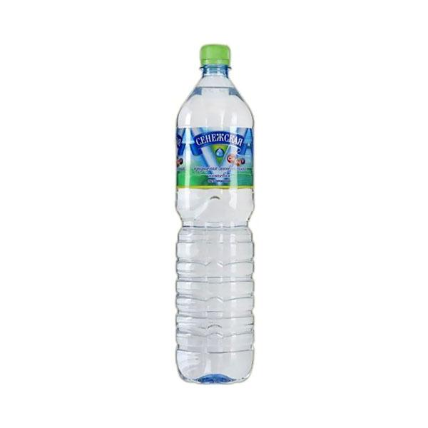 Вода минеральная Сенежская 0,5 л негазированная