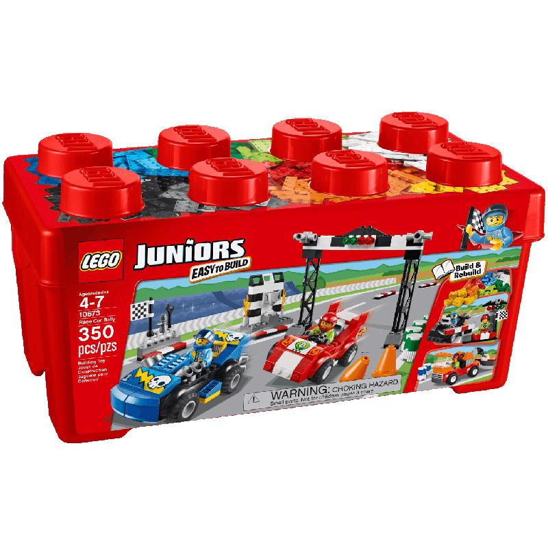 Конструктор LEGO Junior 10673 Ралли на гоночных автомобилях<br>