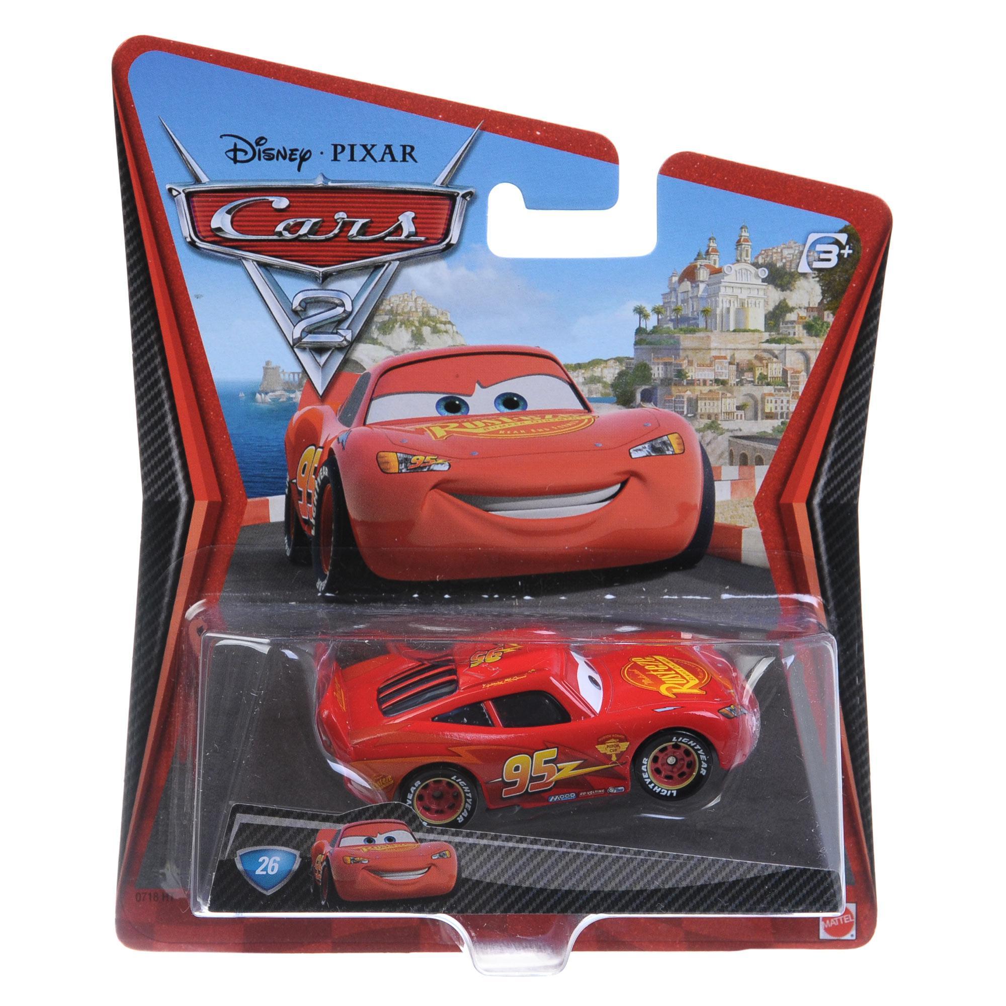 ������� ����� Lightning McQueen with racing wheels