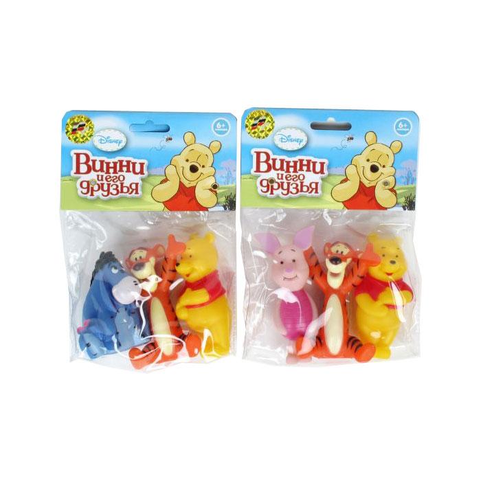 Игрушка для ванной Умка Винни Пух (фигурки в пакете)