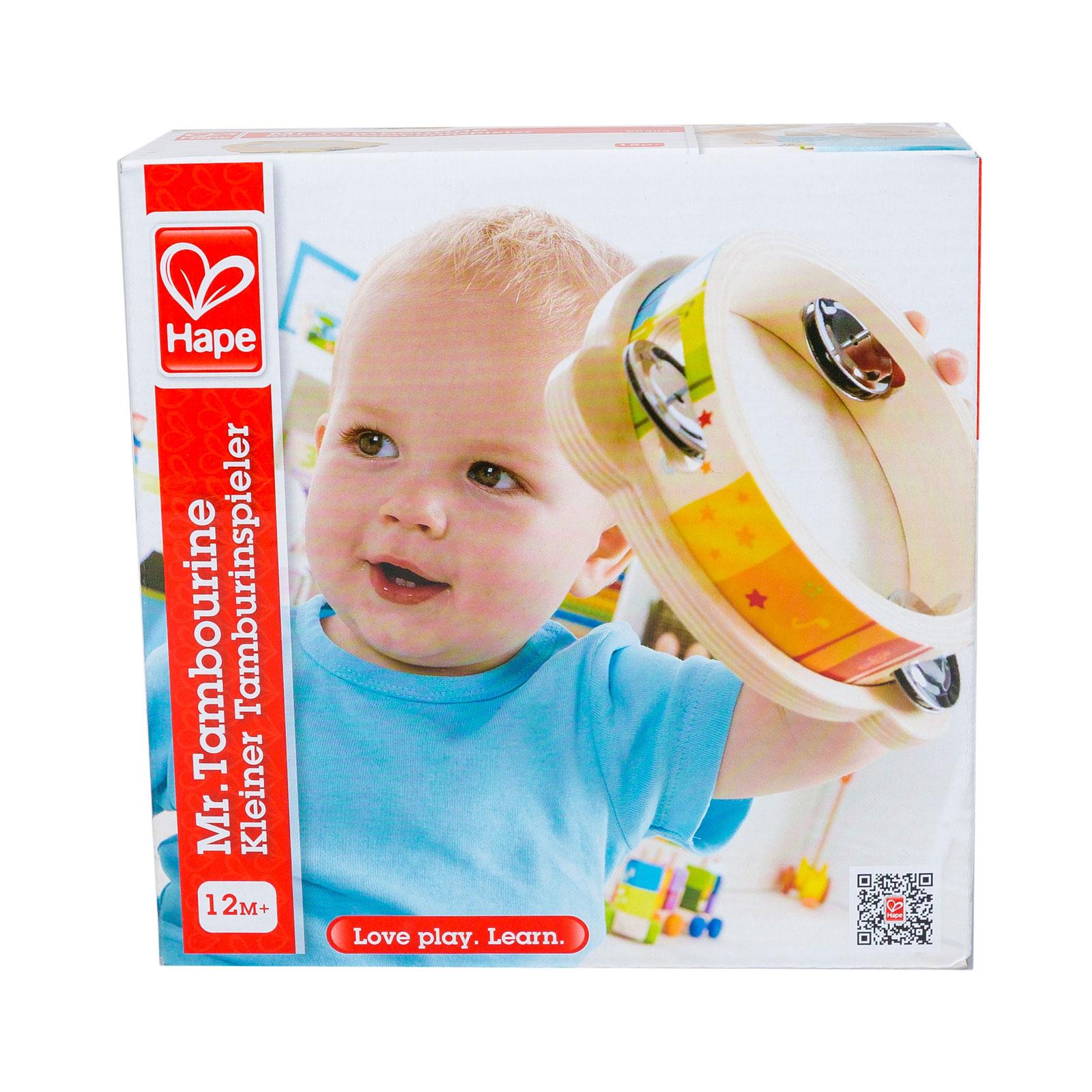 Развивающая игрушка Hape Бубен (с 12 мес.)<br>