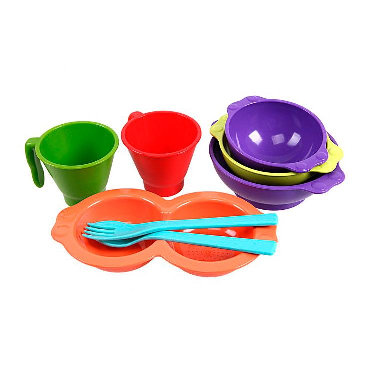Набор детской посуды UINLUI 8 предетов<br>