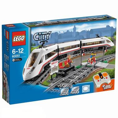 Конструктор LEGO City 60051 Скоростной пассажирский поезд
