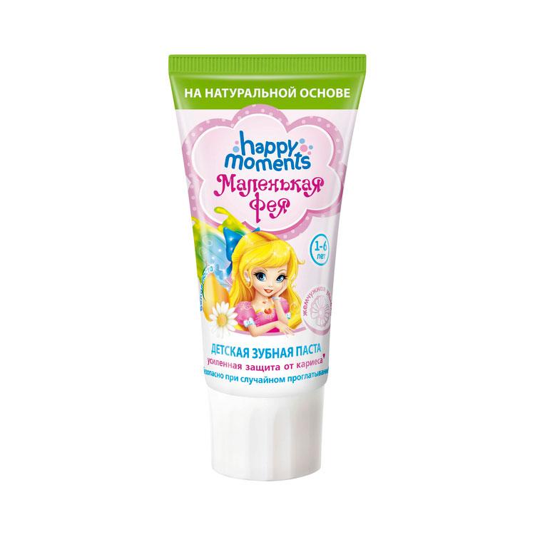 Зубная паста Маленькая Фея жемчужная улыбка Волшебный фрукт 60 мл<br>
