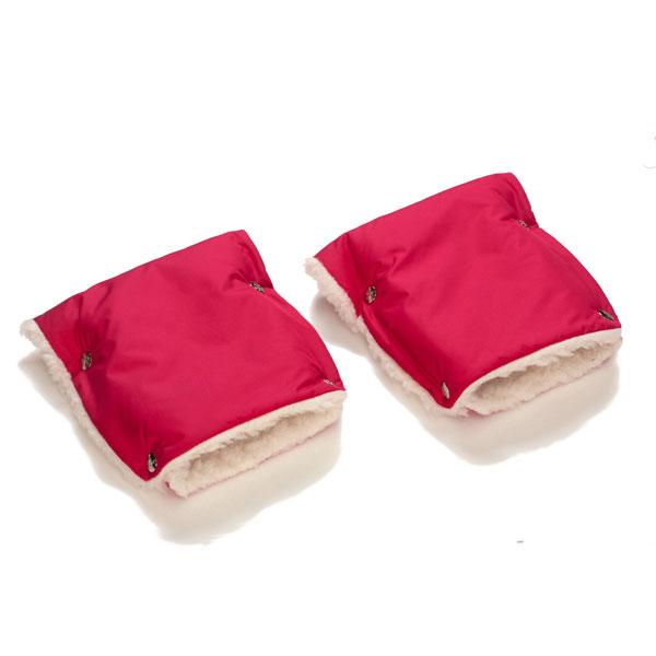 Муфты-рукавички Чудо-Чадо меховые Вишневый<br>