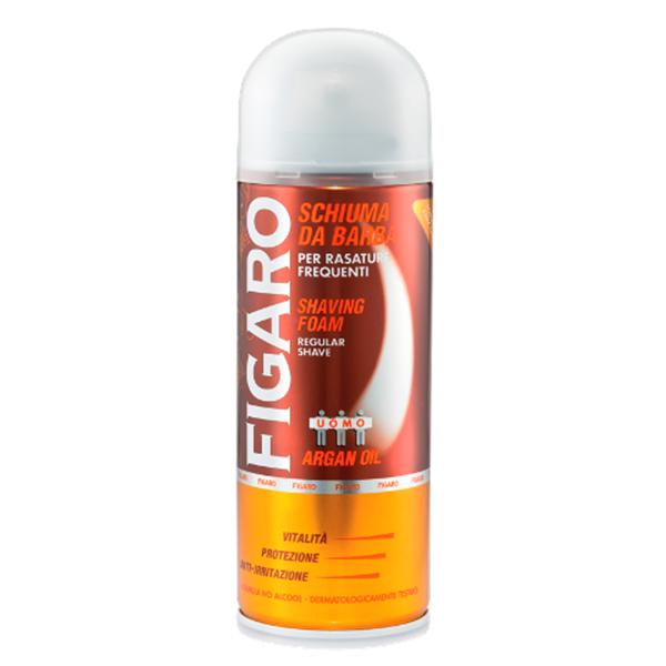 Пена для бритья Figaro 400 мл Аргановое масло<br>