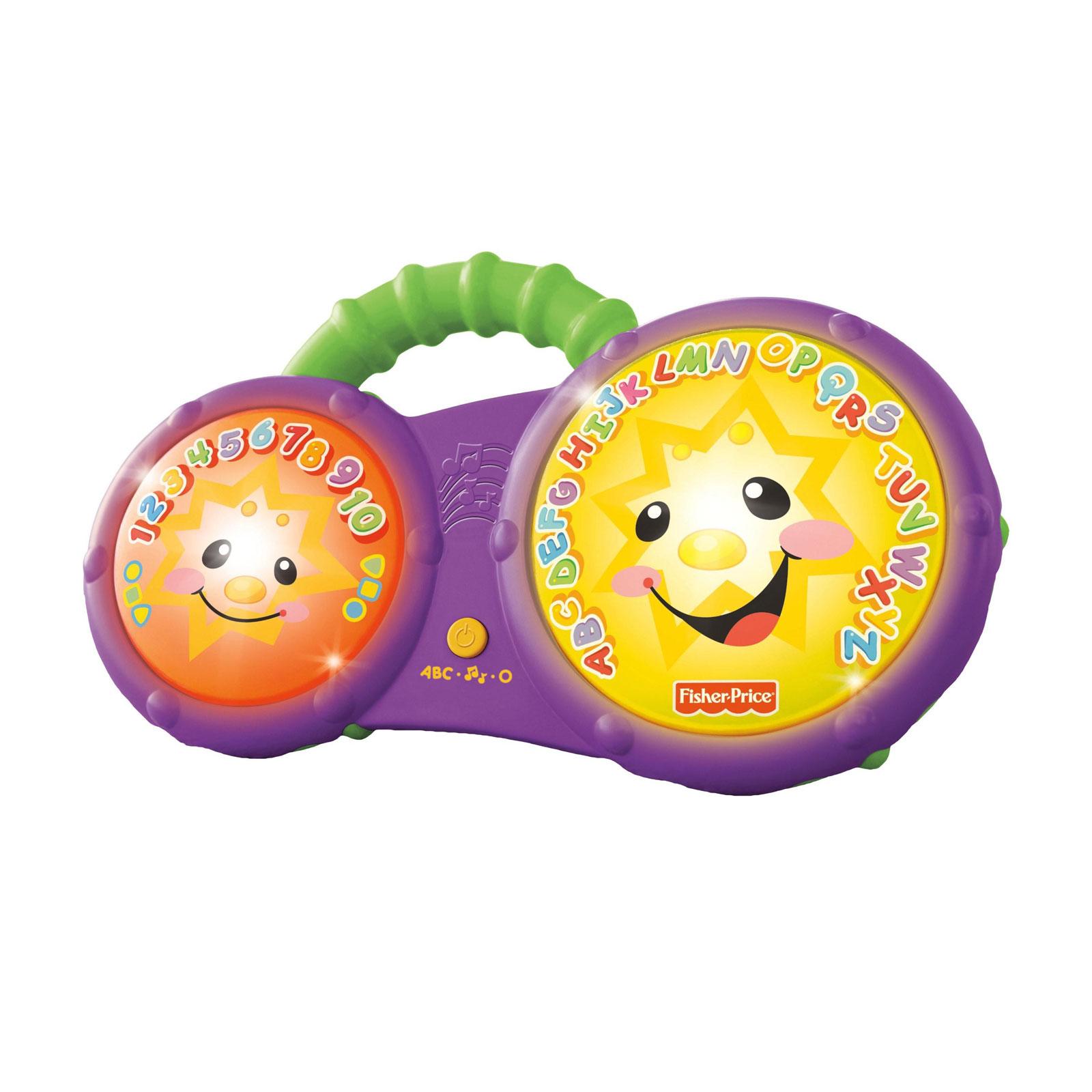 Музыкальная игрушка Fisher Price Весёлые барабаны бонго с 6 мес.