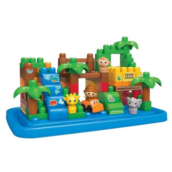 Большой игровой набор Mega Bloks Сафари<br>