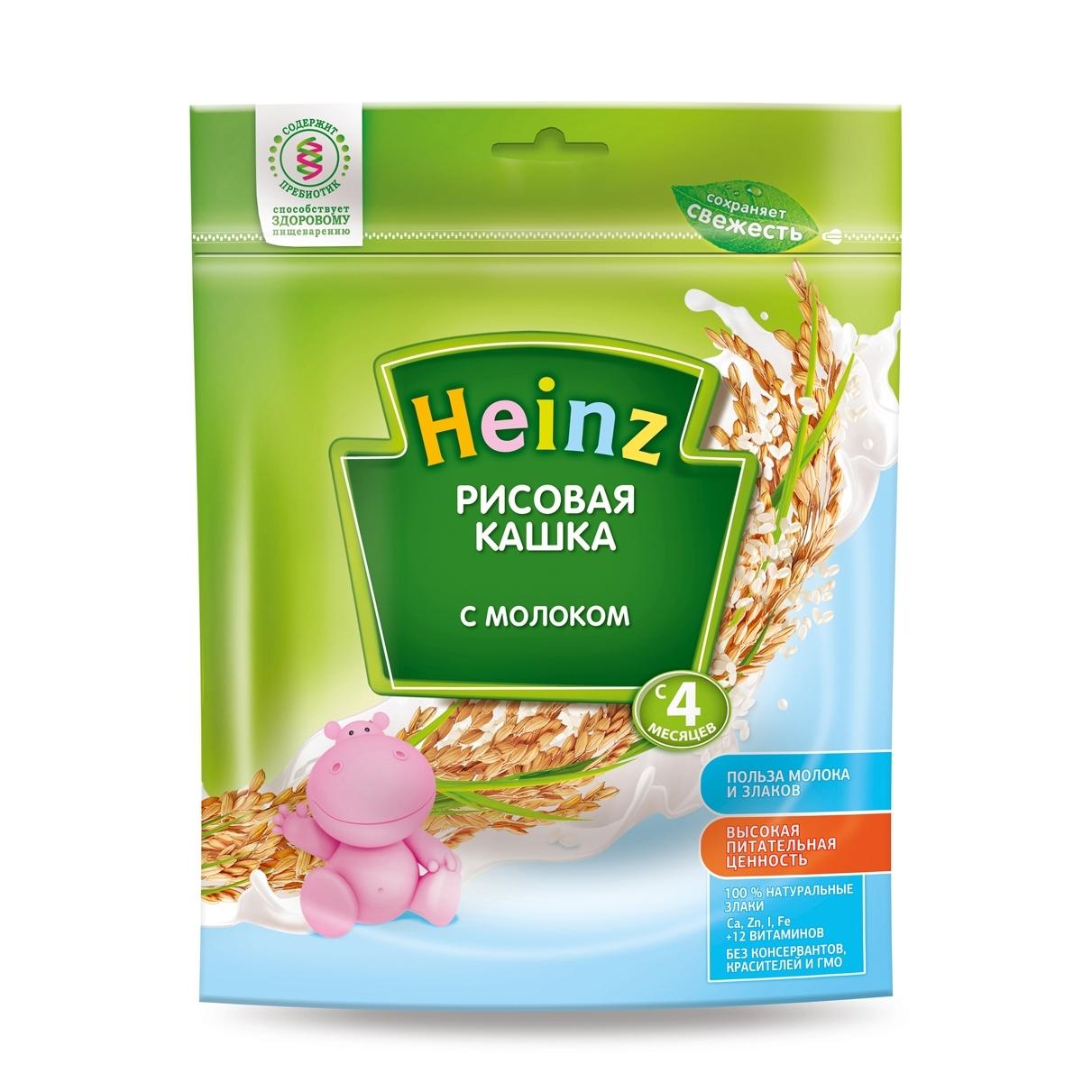Каша Heinz молочная 250 гр Рисовая (с 4 мес)<br>