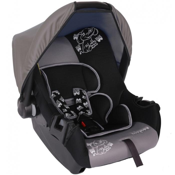 Автокресло Baby Care BC-322 Люкс Слоник Серый<br>
