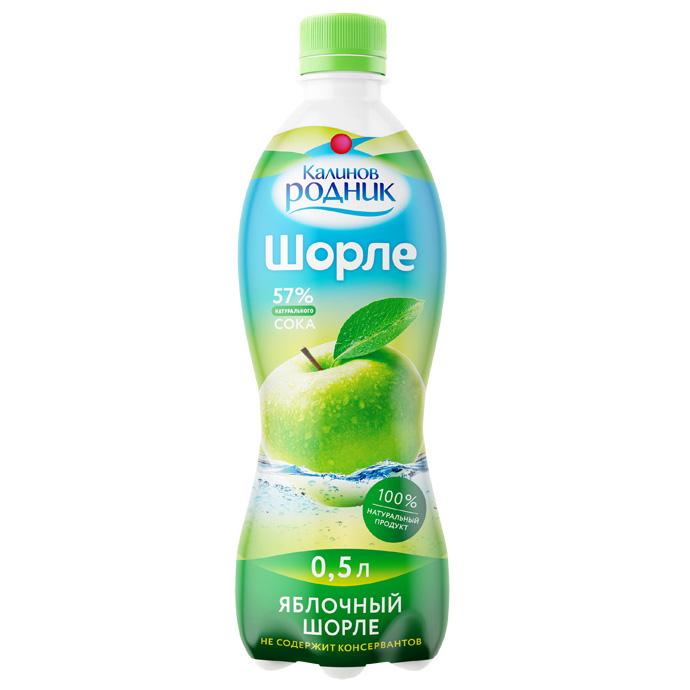 Напиток Шорле Калинов Родник с соком 0,5 л яблочный