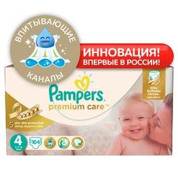 Подгузники Pampers Premium Care Maxi 8-14 кг (104 шт) Размер 4