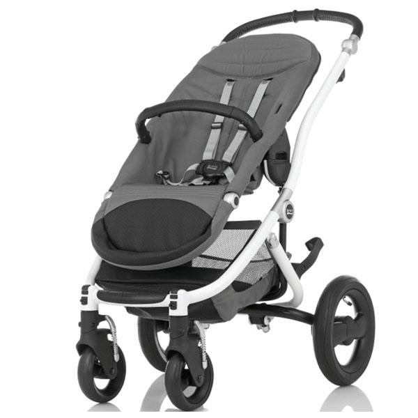 Детская коляска Britax Roemer Affinity 2 (шасси+прогулочный блок) Белая<br>