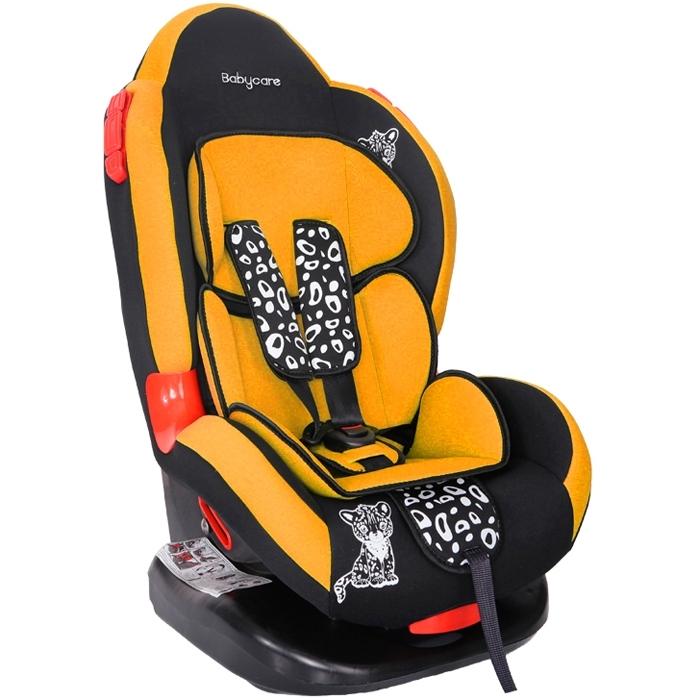 Автокресло Baby Care BC-02 Люкс Леопардик Оранжевый<br>