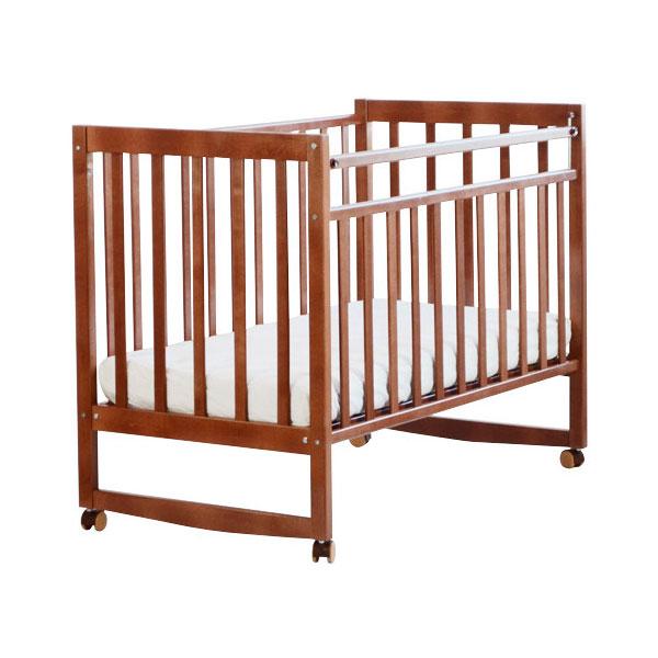 Кроватка СКВ Компани Митенька 1501 Орех 15017<br>