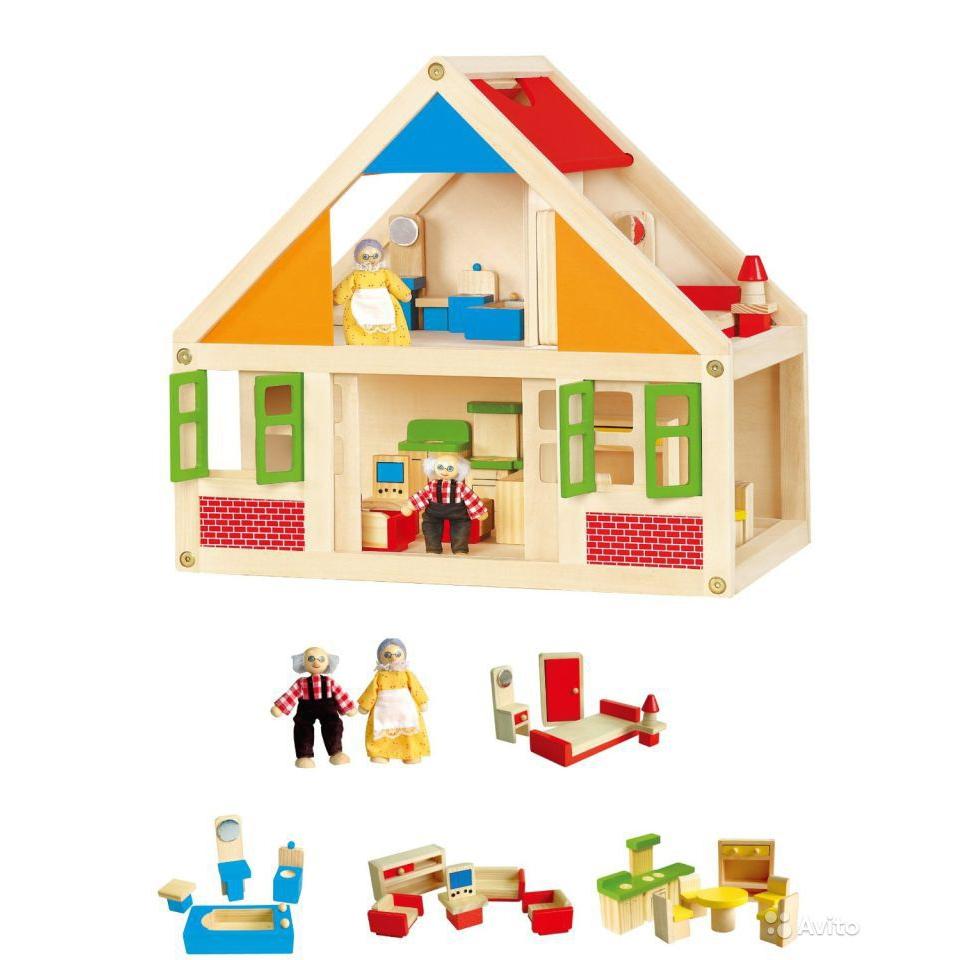 Кукольный дом VIGA Кукольный дом