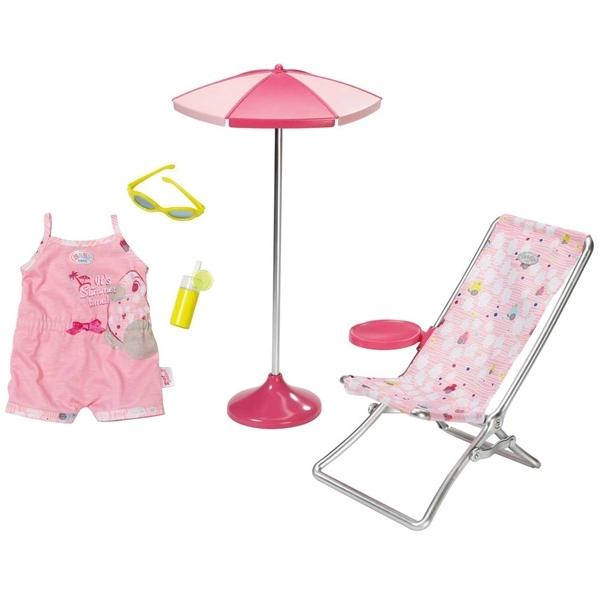 Набор для кукол Zapf Creation Baby Born Солнечные ванны<br>