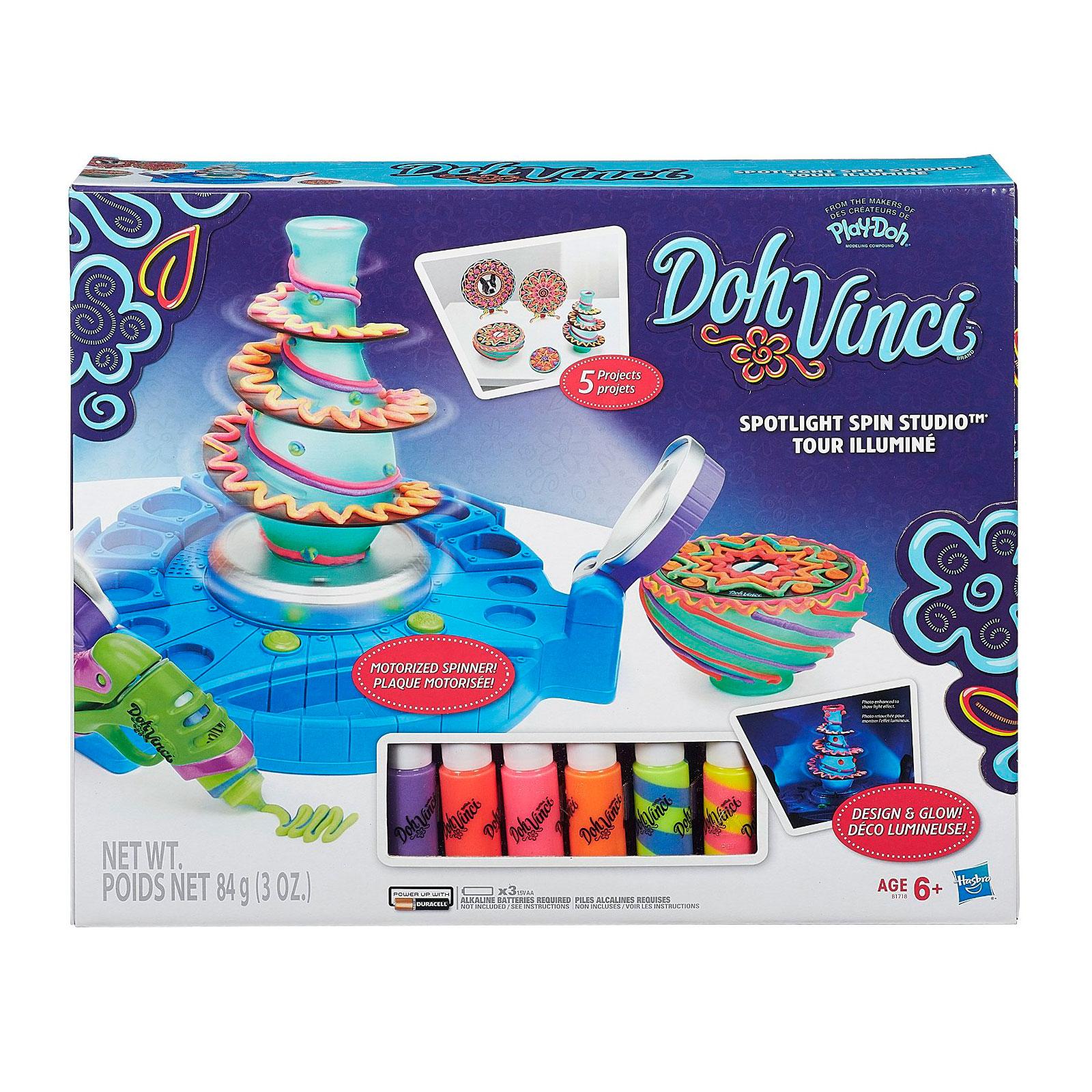 Игровой набор Play-Doh Студия дизайна с подсветкой<br>