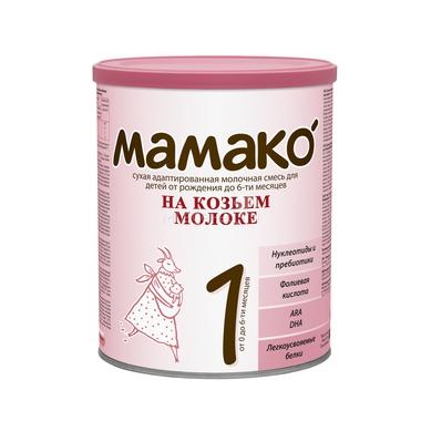 Мамако молочная смесь на основе козьего молока 800 гр №1 (с 0 мес)