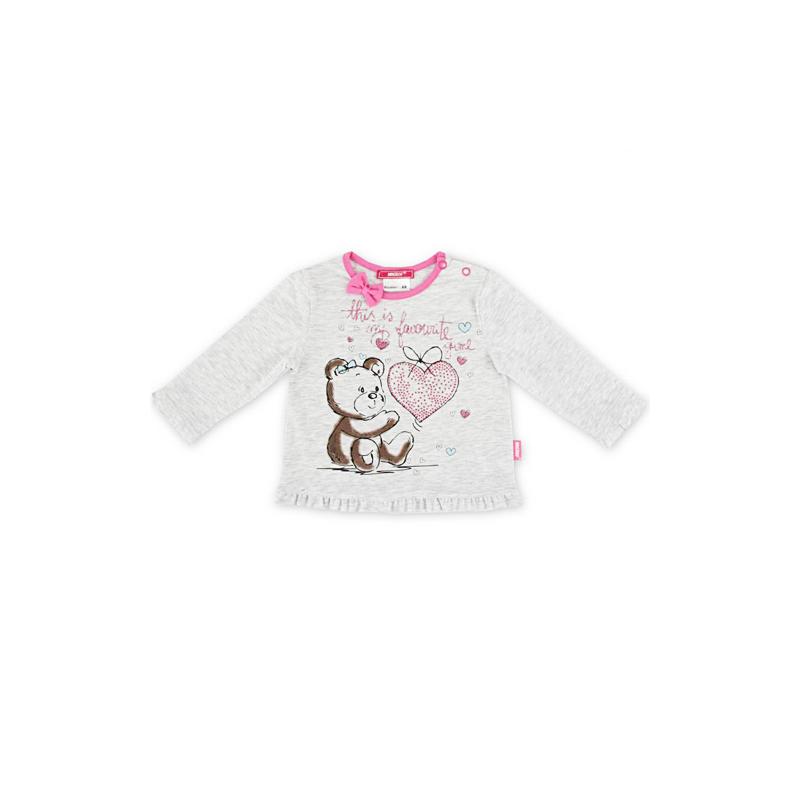 Толстовка Magrof для девочки, цвет - розовый Размер 68