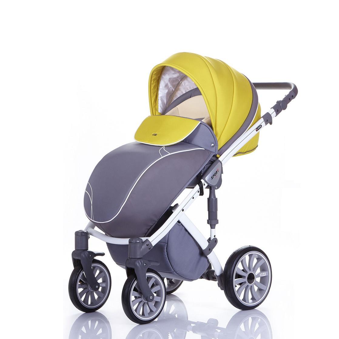 ������� Anex Sport 2 � 1 Q1 PA01 gray+mustard