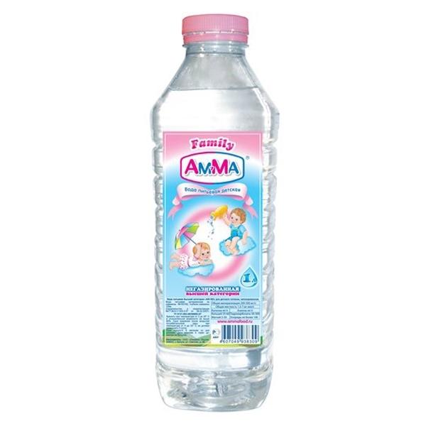 Вода детская Амма 1 л<br>