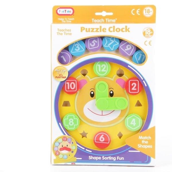 Развивающая игрушка Fun Time Часы-пазл<br>