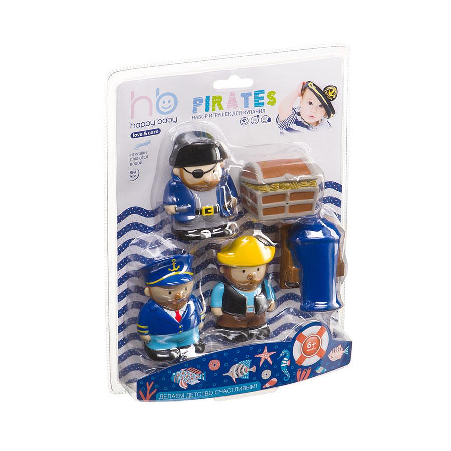 Игрушка для ванной Happy Baby Пираты с 6 мес.