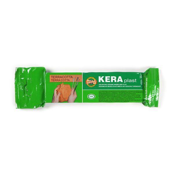 Глина для лепки KOH-I-NOOR KERAPLAST 300 гр Терракота