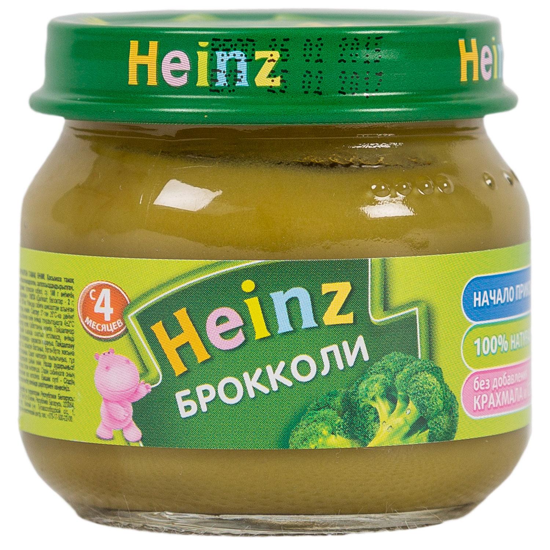Пюре Heinz овощное 80 гр Брокколи (с 4 мес)<br>