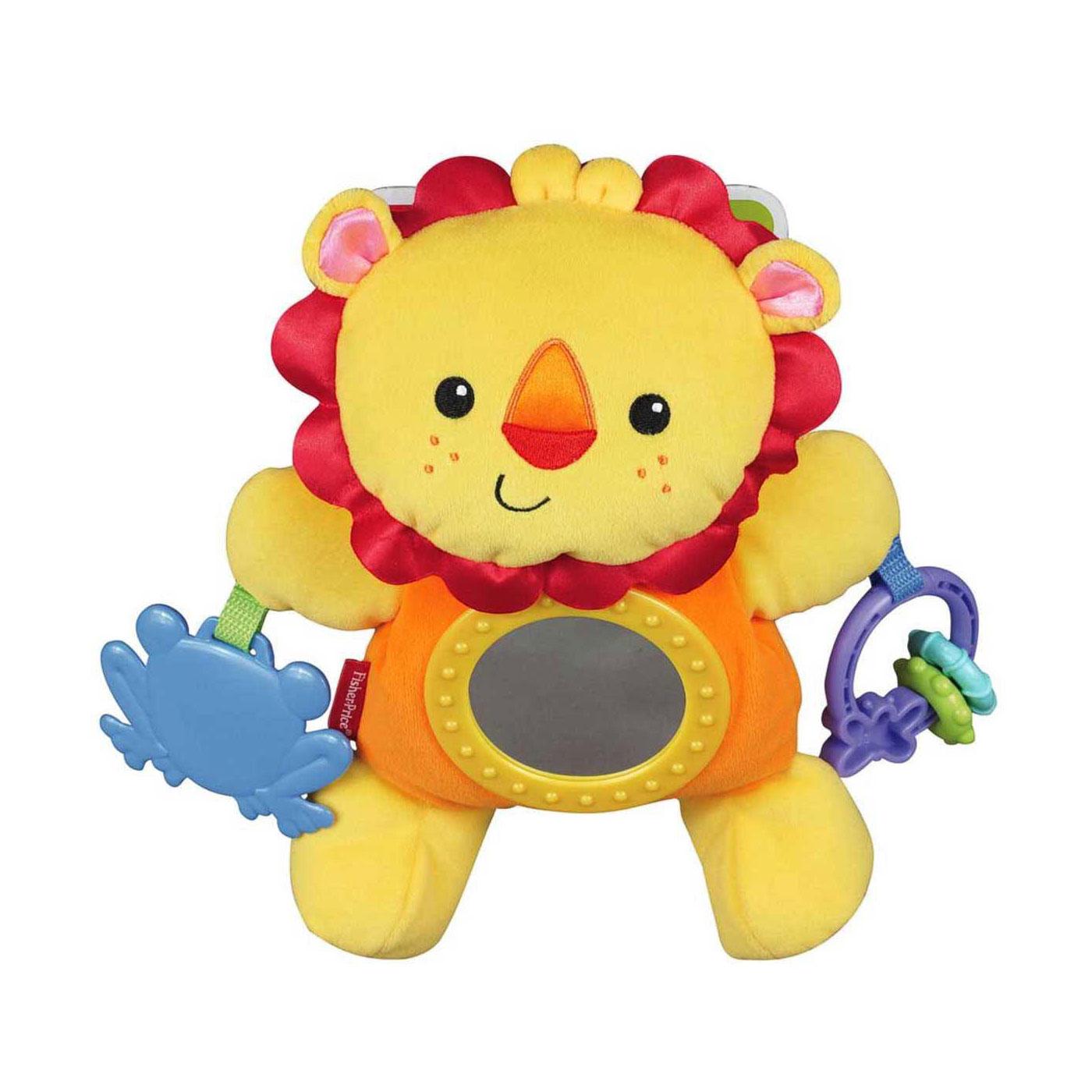 Развивающая игрушка Fisher Price Львенок для крепления к коляске с 3 мес.<br>