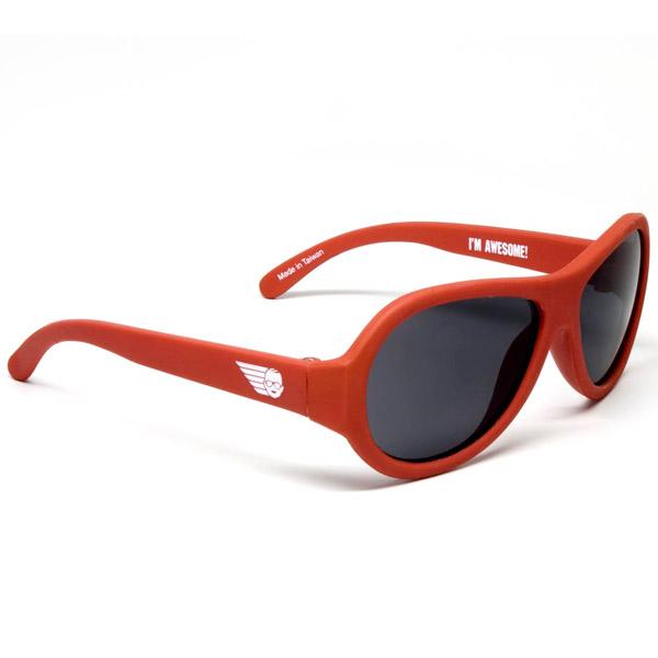 Солнцезащитные очки Babiators Original (0 - 3 лет) Рок-звезда (цвет - красный)<br>