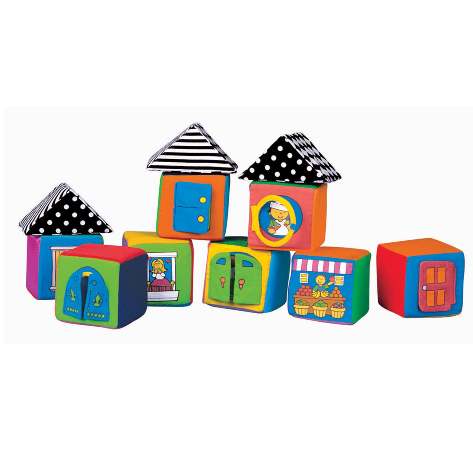Развивающая игрушка K&amp;#039;s Kids Мягкие кубики в коробке с 0 мес.<br>