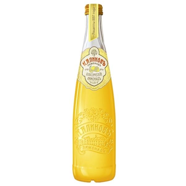 Лимонад КалиновЪ Винтажный 0,5 л классический (стекло)