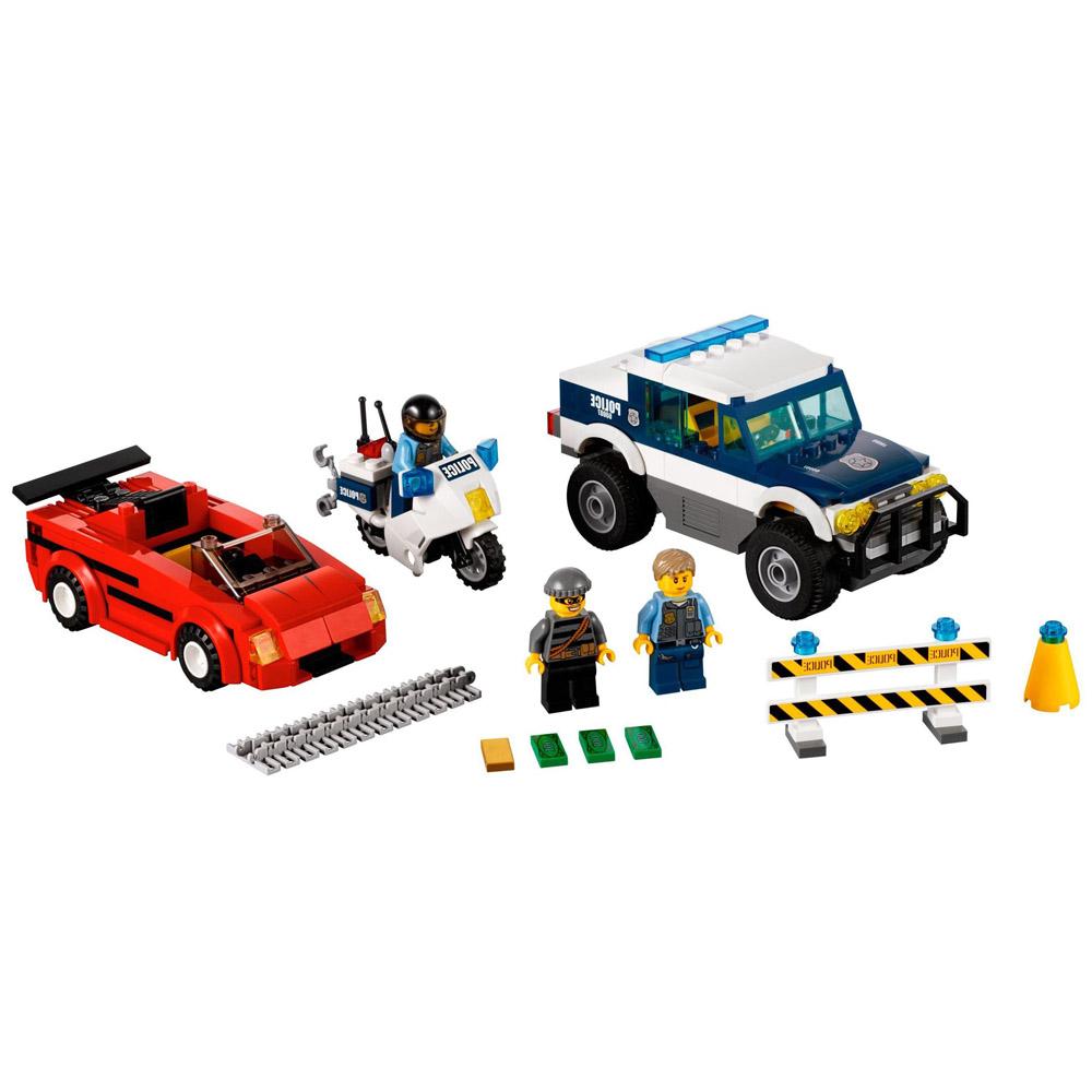 Конструктор LEGO City 60007 Погоня за преступниками<br>
