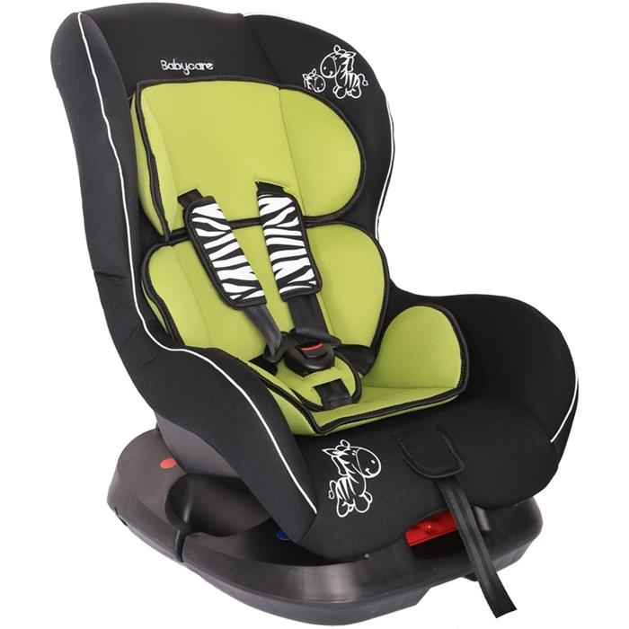 Автокресло Baby Care BC-303 Люкс Зебрик Зеленый<br>