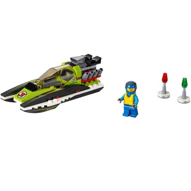 Конструктор LEGO City 60114 Гоночный катер<br>