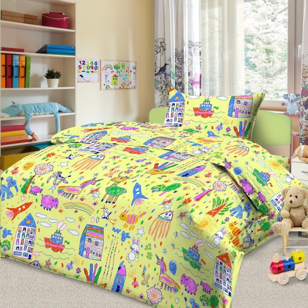 Комплект постельного белья детский Letto Каляка<br>
