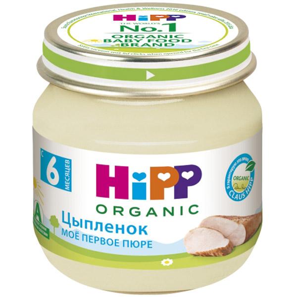Пюре Hipp мясное 80 гр Цыпленок (с 6 мес)<br>