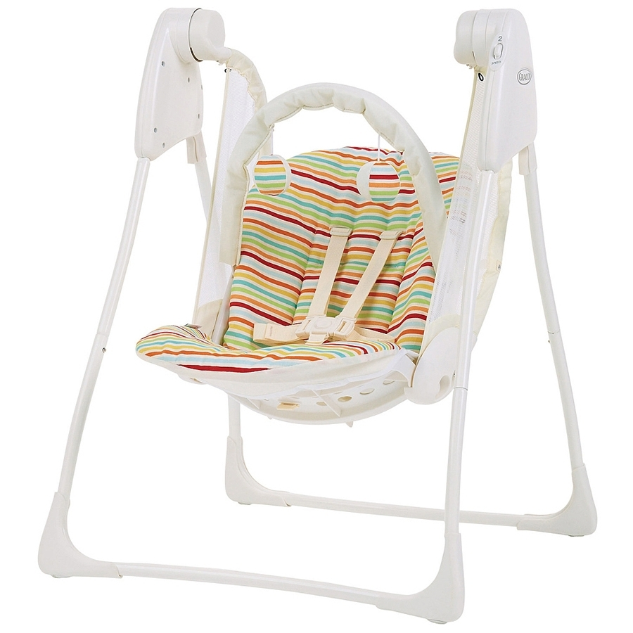 Электрокачели Graco Baby Delight Candy Stripe<br>