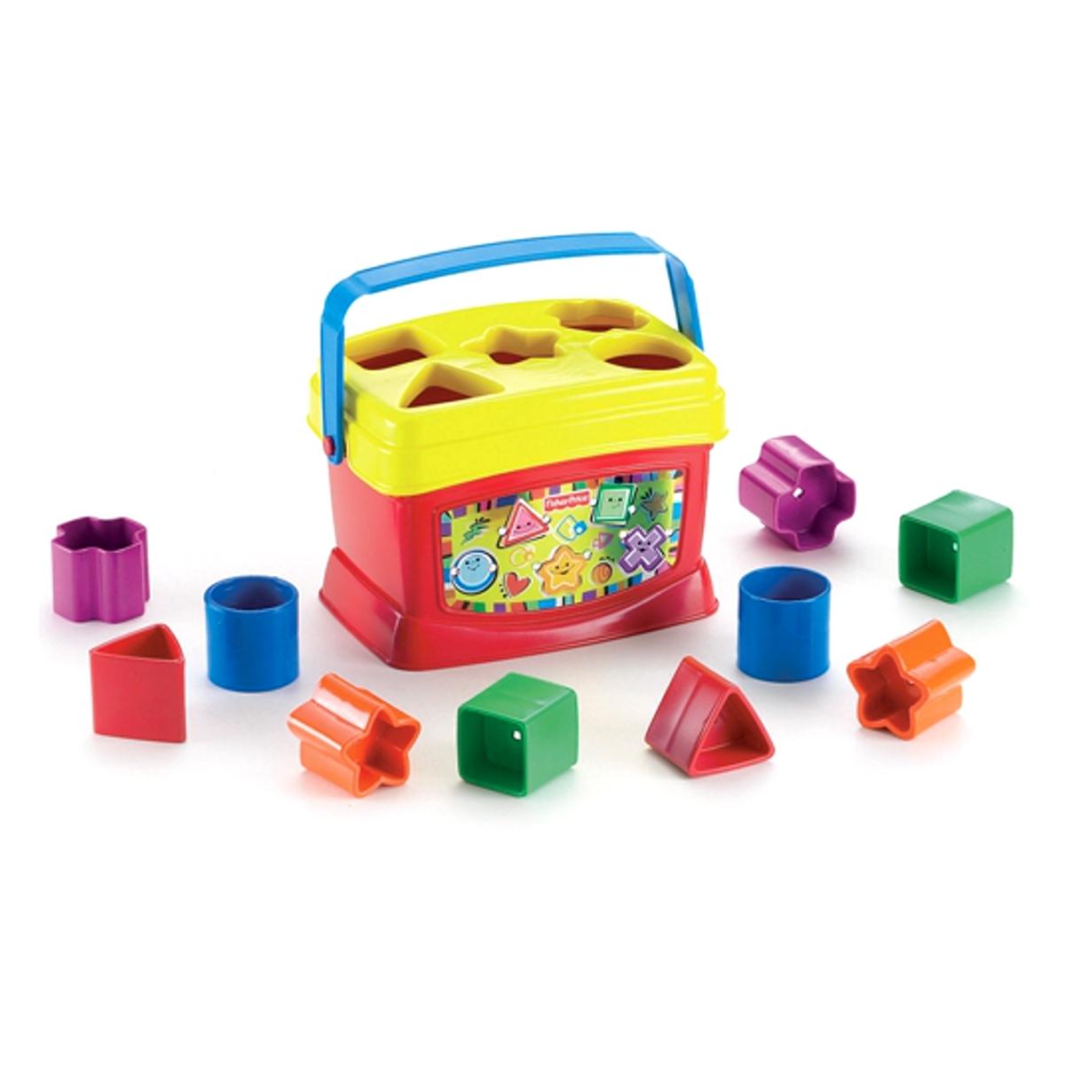 Кубики Fisher Price Первые кубики малыша<br>