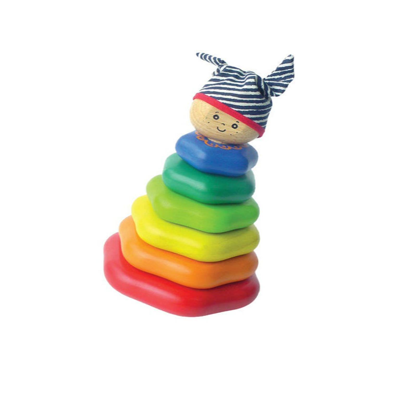 Пирамидка I`m Toy Классическая из 7 деталей<br>