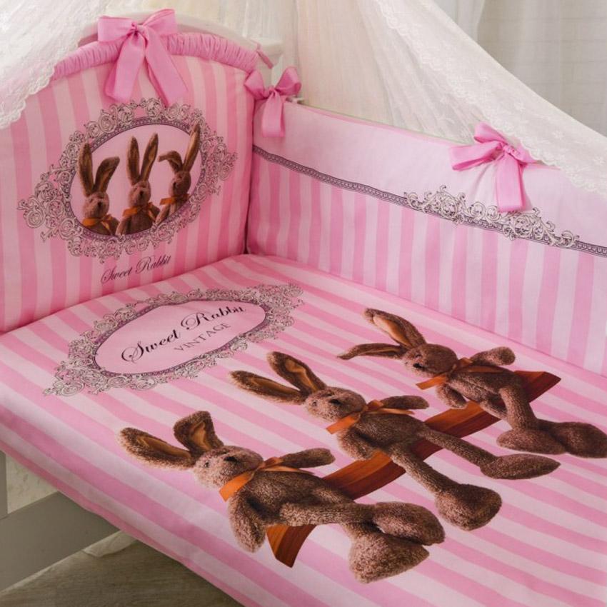 Комплект Золотой Гусь Sweet Rabbit Розовый<br>